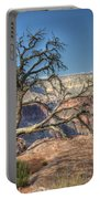Grand Canyon Tree At Toroweap Portable Battery Charger
