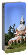 Grand Chapel In Central Cemetery Szczecin Poland Portable Battery Charger