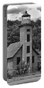 Grand Island Lighthouse Bw Portable Battery Charger