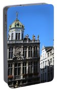 Grand Place Buildings Portable Battery Charger
