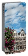 Grand Place Flowers Portable Battery Charger