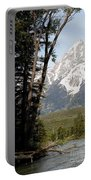 Grand Tetons Vertical Portable Battery Charger