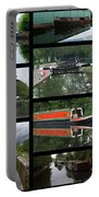 Grand Union Canal Collage Portable Battery Charger