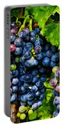 Grapes Ready For Harves Portable Battery Charger