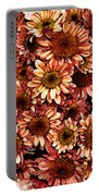 Graphic Dasies Portable Battery Charger
