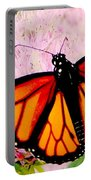 Graphic Monarch Portable Battery Charger