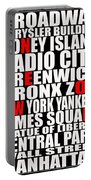 Graphic New York 3 Portable Battery Charger