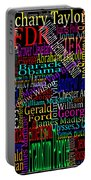 Graphic Presidents Portable Battery Charger