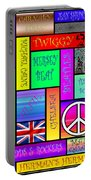Graphic Sixties London Portable Battery Charger
