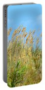 Grass Waving In The Breeze Portable Battery Charger