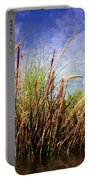 Grasses Standing Tall Portable Battery Charger