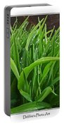 Grassy Drops Portable Battery Charger