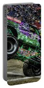 Grave Digger At Ford Field Detroit Mi Portable Battery Charger