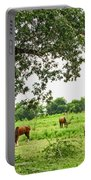Grazing Under The Oak Portable Battery Charger