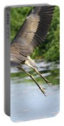 Great Blue Heron Escape Portable Battery Charger
