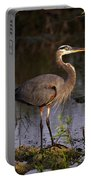 Great Blue Heron Portable Battery Charger