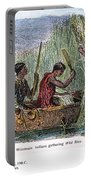 Great Lakes: Canoe, 19th C Portable Battery Charger