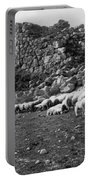 Great Tower Of Tiryns - Greece - Birthplace Of Hercules Portable Battery Charger
