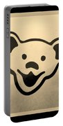 Greatful Dead Dancing Bears In Sepia Portable Battery Charger