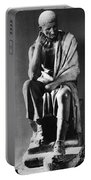 Greek Philosopher Portable Battery Charger by Photo Researchers