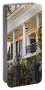 Greek Revival And The Tiny Pink Shoe - Garden District New Orleans Portable Battery Charger