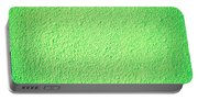 Green Background Portable Battery Charger