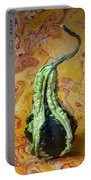 Green Gourd Portable Battery Charger