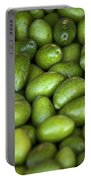 Green Olives Portable Battery Charger by Joana Kruse