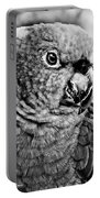 Green Parrot - Bw Portable Battery Charger