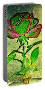 Green Rose Portable Battery Charger