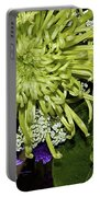 Green Spider Mum Portable Battery Charger