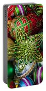 Green Star Christmas Ornament Portable Battery Charger
