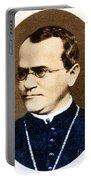 Gregor Mendel, Father Of Genetics Portable Battery Charger
