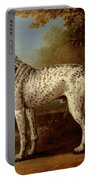Grey Spotted Hound Portable Battery Charger