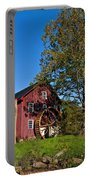 Grist Mill Painted Portable Battery Charger
