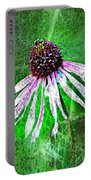 Gritty Coneflower Portable Battery Charger