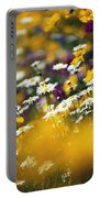 Group Of Daisies Portable Battery Charger