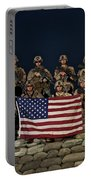 Group Photo Of U.s. Marines Portable Battery Charger