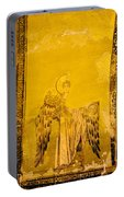 Guardian Angel Byzantine Art Portable Battery Charger