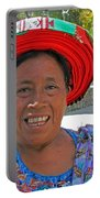 Guatemalan Village Woman Portable Battery Charger