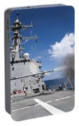Guided-missile Destroyer Uss Pinckney Portable Battery Charger