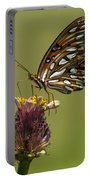 Gulf Fritillary Butterfly - Agraulis Vanillae Portable Battery Charger