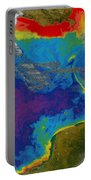 Gulf Of Mexico Dead Zone Portable Battery Charger