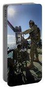 Gunner Mans A M240 Machine Gun Portable Battery Charger