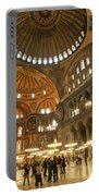 Hagia Sophia In Istanbul Portable Battery Charger
