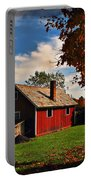 Hale Farm In Autumn Portable Battery Charger