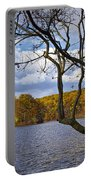Hall Lake In Autumn No 0118 Portable Battery Charger