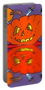 Halloween Reflections Portable Battery Charger