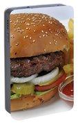 Hamburger  Portable Battery Charger