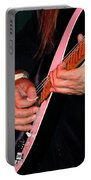 Sun In The Hands And Guitar Of Uli Jon Roth Portable Battery Charger